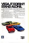 Chevrolet Vega Full Line Ad