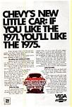 1971 Chevrolet Vega Ad
