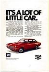 Chevrolet Vega Ad