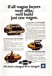 1971 Chevrolet Wagons Ad
