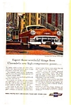 Click here to enlarge image and see more about item chevy29: Chevrolet New Two-Ten Sedan Ad Early 1950s