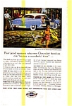 Click here to enlarge image and see more about item chevy30: 1954 Chevrolet Delray Coupe Ad