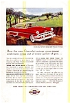 Click here to enlarge image and see more about item chevy32: 1954 Chevrolet Bel Air Sport Coupe Ad