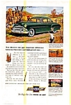 Click here to enlarge image and see more about item chevy33: Chevrolet De Luxe Sport Coupe Ad Early 1950s