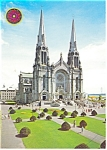Click here to enlarge image and see more about item cs0008: St Anne de Beaupre Basilica  Quebec Postcard cs0008