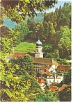 Click here to enlarge image and see more about item cs0015: Homes in  Triberg Germany Postcard cs0015