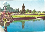 Click here to enlarge image and see more about item cs0016: Victoria BC Canada Inner Harbor Postcard cs0016