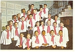 Click here to enlarge image and see more about item cs0028: Boys Town NE Concert Choir Postcard cs0028