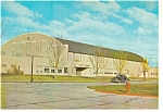 Boys Town, NE, Field House Postcard Old Car