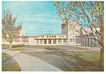 Click here to enlarge image and see more about item cs0035: Boys Town NE Library and High School Postcard cs0035
