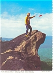 Click here to enlarge image and see more about item cs0043: Blowing Rock  NC  Postcard cs0043