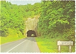 Click here to enlarge image and see more about item cs0048: Little Switzerland, NC Blue Ridge Tunnel Postcard