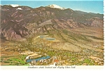 Colorado Springs, CO Broadmoor Hotel District Postcard