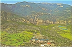 Broadmoor Resort Colorado Springs CO Postcard cs0087
