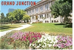Click here to enlarge image and see more about item cs0088: Mesa County Court House Grand Junction  CO Postcard cs0088