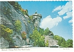 Chimney Rock Park NC Postcard cs0103 Old Cars