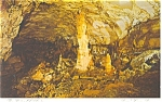 Click here to enlarge image and see more about item cs0113: Centre Hall, PA ,Penn's Cave,Statue of Liberty Postcard