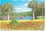 Silver Springs,Florida Glass Bottom Boats Postcard