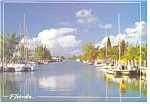 Florida Waterway Postcard cs0143