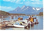 Click here to enlarge image and see more about item cs0187: Colter Bay Grand Teton National Park WY Postcard cs0187