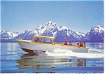 Jackson Lake Grand Teton National Park WY Postcard cs0190