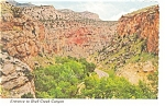 Entrance to Shell Creek Canyon WY Postcard cs0193