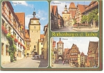 Rothenburg o.d.Tauber,Bavaria, Germany Postcard
