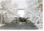 Kyoto Japan Kondo of the Ninnaji Temple Postcard cs0273