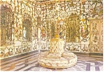 Click here to enlarge image and see more about item cs0275: Aranjuez Madrid Spain Porcelain Room  Postcard cs0275