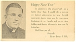 Click here to enlarge image and see more about item cs0278: Lancaster ,PA,New Years Card,Pastor Hoh  Postcard 1945