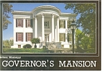 Jackson MS Governor s Mansion Postcard cs0282