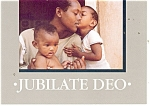 Click here to enlarge image and see more about item cs0326: Jubilate Deo Postcard