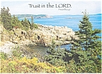 Trust in the Lord, Proverbs 3:5 Postcard