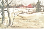 God hath given to us eternal life  1 John 5:11 Postcard cs0338