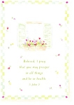 Click here to enlarge image and see more about item cs0342: I pray that you may prosper, 3 John 2 Postcard cs0342