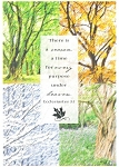 Click here to enlarge image and see more about item cs0344: There is a Season...Eccleslastes 3:1 Postcard