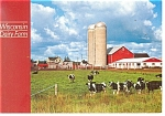 Click here to enlarge image and see more about item cs0356: Wisconsin Dairy Farm Postcard