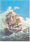 Sailing Vessels 3-D Postcard cs0422