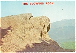 Click here to enlarge image and see more about item cs0434: Blowing Rock, North Carolina Postcard
