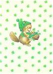 Click here to enlarge image and see more about item cs0445: St Patrick's Day Postcard