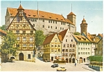 Click here to enlarge image and see more about item cs0470: Nurnberg,Germany View towards the Castle Postcard