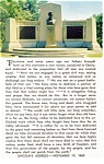 Gettysburg PA Lincoln Speech Memorial Postcard cs0477