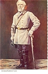 Click here to enlarge image and see more about item cs0478: General Robert E Lee Postcard cs0478