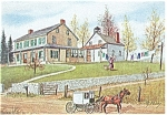 Wash Day Dutch Art Painting Jay McVey Postcard