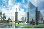 Click here to enlarge image and see more about item cs0514: Crystal Cathedral Garden Grove CA  Postcard cs0514