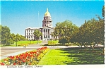 Click here to enlarge image and see more about item cs0515: Denver, CO, State Capitol Postcard