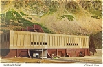 Eisenhower Tunnel,West Portal,I-70, Colorado Postcard