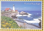 Click here to enlarge image and see more about item cs0533: Portland Head Light, Cape Elizabeth,ME Postcard