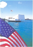 Click here to enlarge image and see more about item cs0535: USS Arizona Memorial Pearl Harbor HI Postcard cs0535