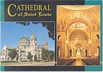 Cathedral of St Louis MO  Postcard cs0538